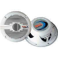 "MR60W - MR60W Marine Speaker Boss Audio MR60W 6 1/2"" 2-Way Coaxial Marine Speaker, White (Sold as a pair)"