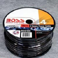 B4G100 - Black Ground Wire 100 Ft