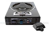 "BASS900  - - 8"" Low Profile Amplified Subwoofer, Remote Subwoofer Level Conrol, 900W"